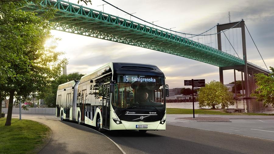 """Volvo anunció buses híbridos y el CEO de Fotón Mobility sorprendió con un """"mensaje"""" públicamente"""