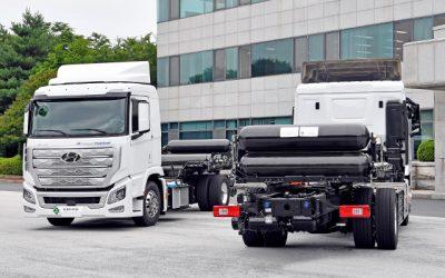 Hyundai se prepara para la llegada del primer camión a hidrógeno verde de Chile