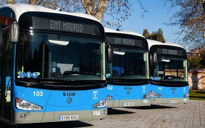 Madrid encabeza transición sumando 206 buses eléctricos y más puntos de carga