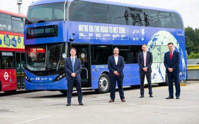 Así será el viaje de 11 días hasta llegar a la COP26 en buses eléctricos de BYD